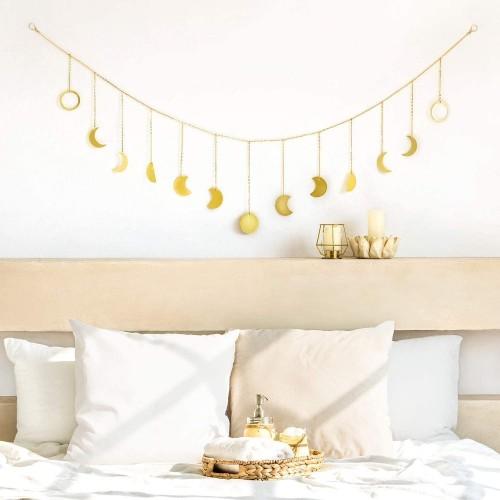 Gold Moon Wall Hanging