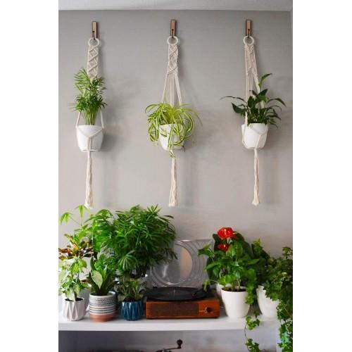 Boho Macrame Plant Hangers