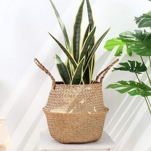 Seagrass Storage Belly Basket
