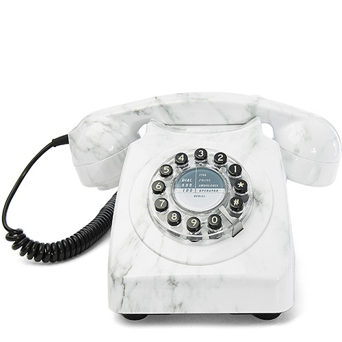 British Retro 746 Phone Marble