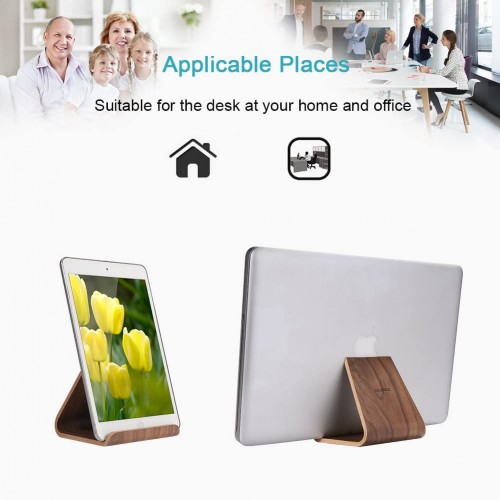 Universal Wood Tablet Stand