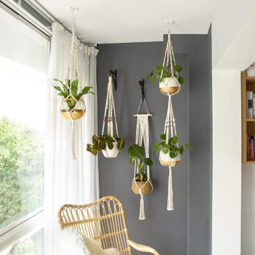 Macrame Wall Hanging Planters