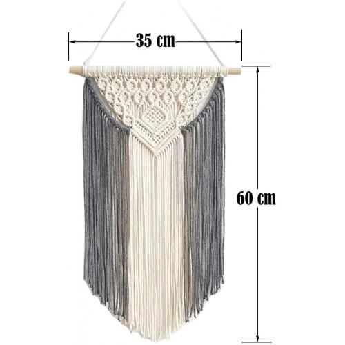 Macrame Tapestry Wall Hanging