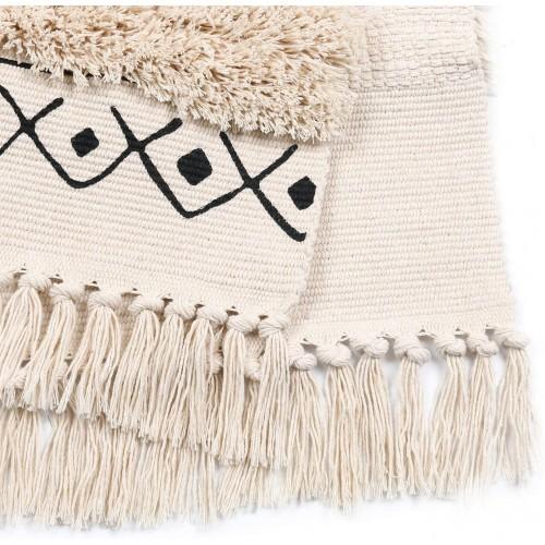 Tufted Cotton Area Rug