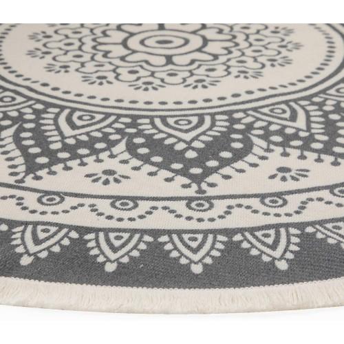 Mandala Cotton Area Rug
