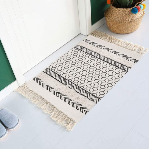 Modern Cotton Area Rug