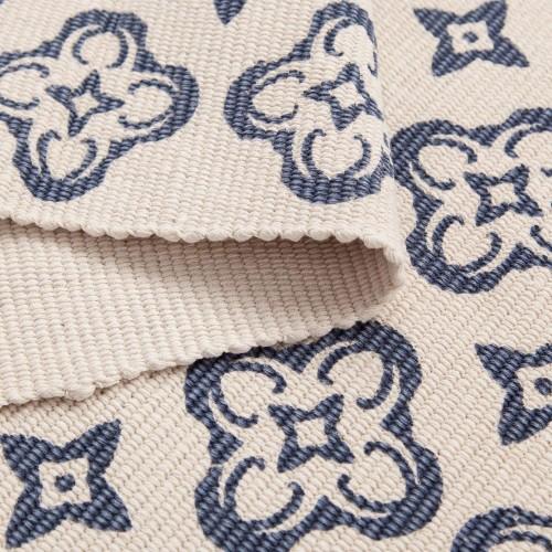 Floral Cotton Area Rug