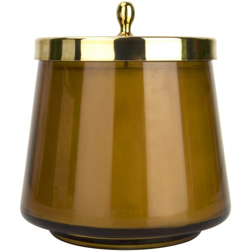 Scented Candle Oval Glass Jar