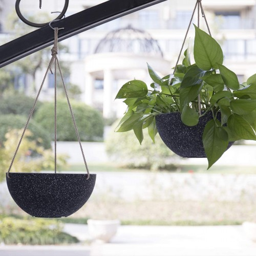 Hanging Planters with Drainage