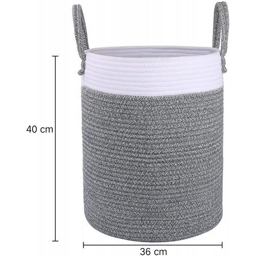 Cotton Rope Large Basket