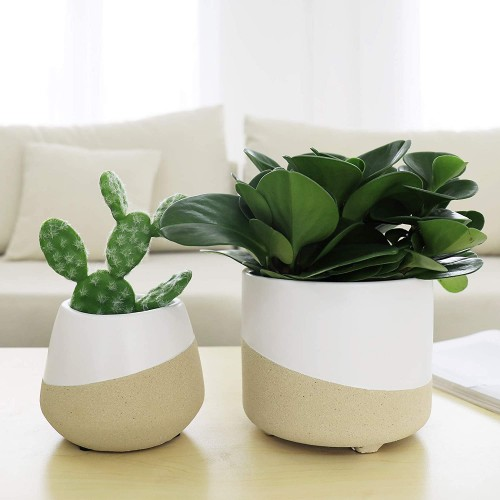 Ceramic Round Plant Pots