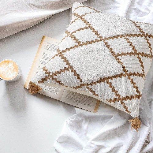 Coffee Throw Pillow Cover