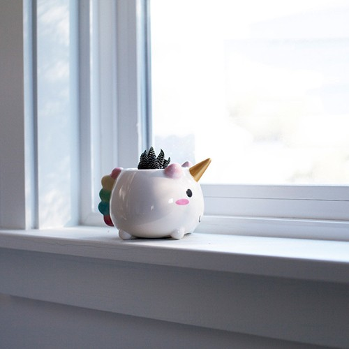 Elodie Unicorn Planter