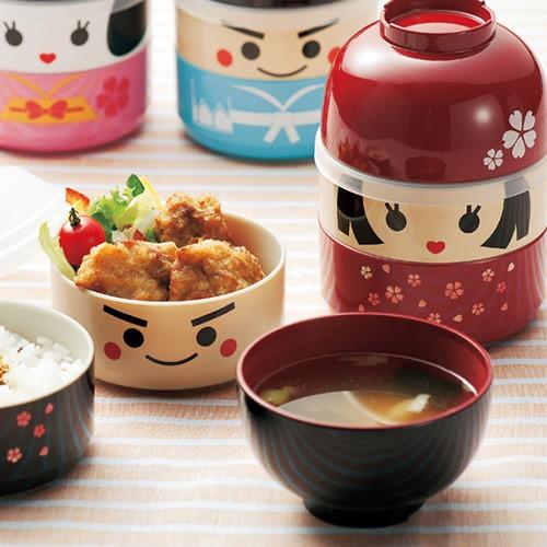 Kokeshi Bento Boxes