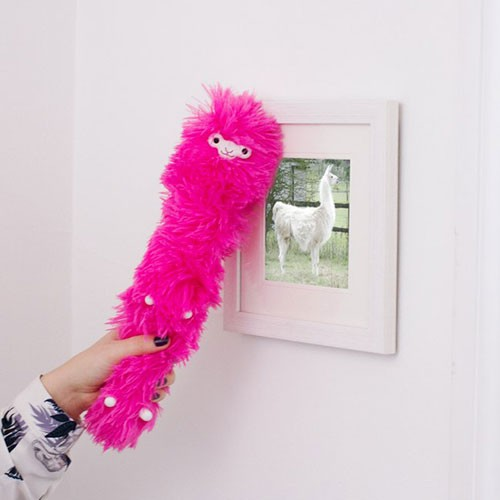 The Llama Feather Duster