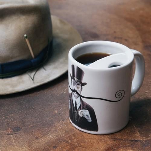 The Original Moustache Guard Mug