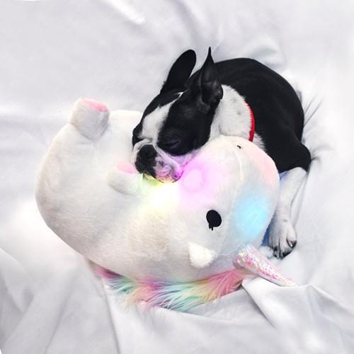 Glowing Unicorn Pillow