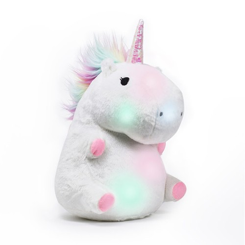 Glowing Unicorn Pillow