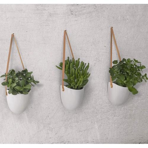 Ceramic Hanging Planter | Set of 3