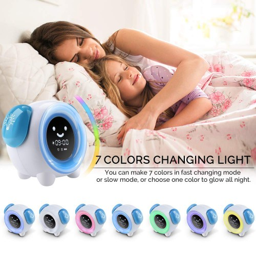 Kids Alarm Clock Changing Colors