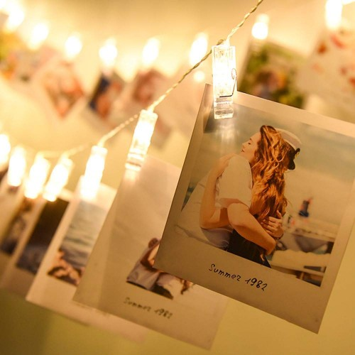 LED Photo Clip String Lights