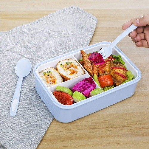 Lunch Box Set: On-The-Go Meal and Snack