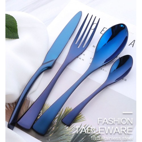 Colorful Stainless Steel Cutlery Set